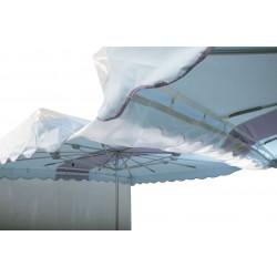 Gouttière parasol plastique déclinable GOUP000 PARASOLS