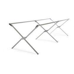 LOT DE 4 LITS DE CAMP EN ALUMINIUM