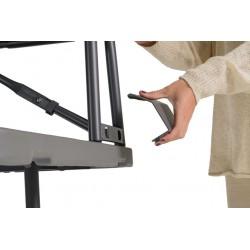 TABLE PVC PLIABLE AJUSTABLE NEW ZOWN CLASSIC 183 x 75 TPVCA001 Accueil