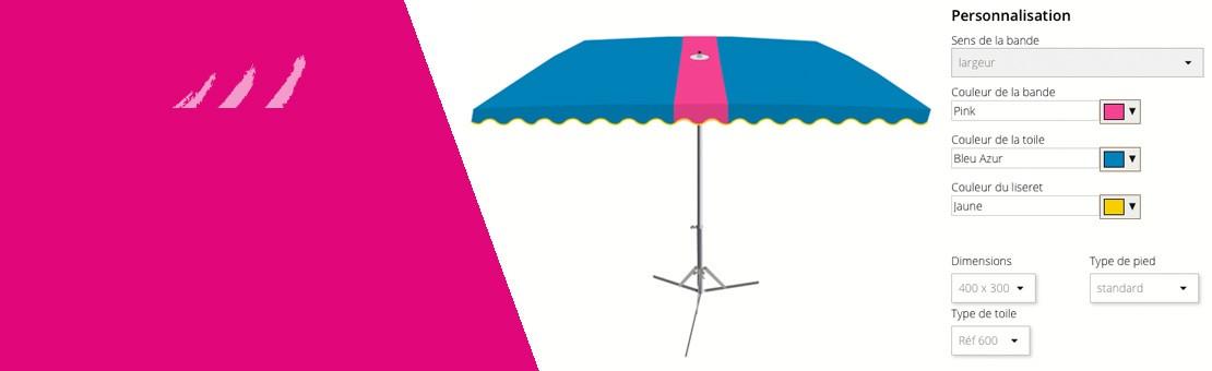 Créer votre parasol